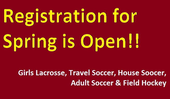 SPRING REGISTRATION IS OPEN